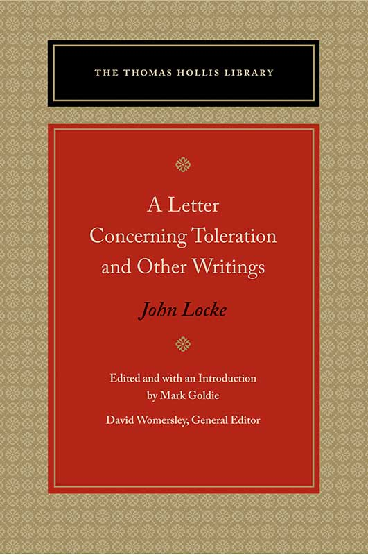 letter concerning toleration and other writings a