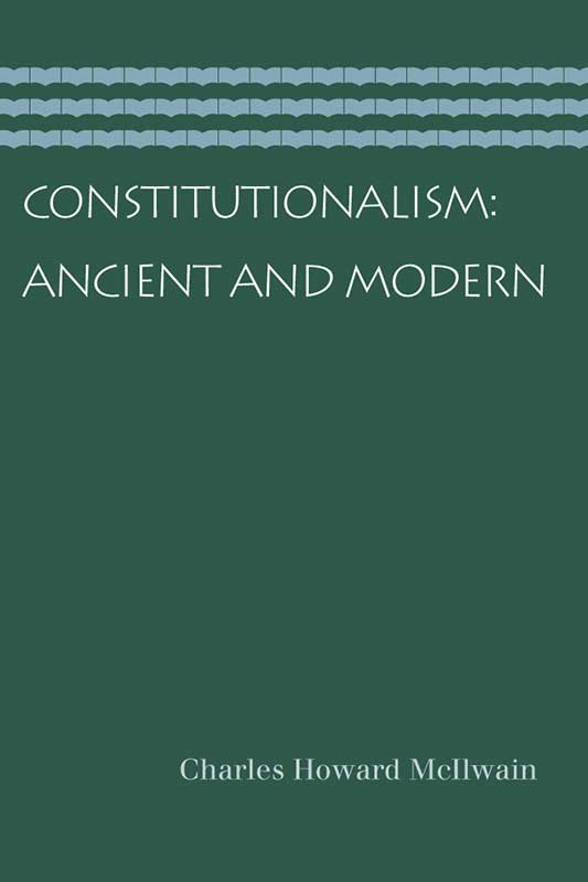 constitutionalism ancient and modern