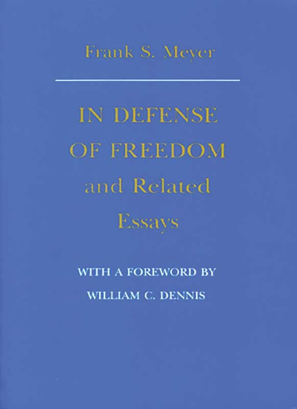 in defense of dom and related essays liberty fund details