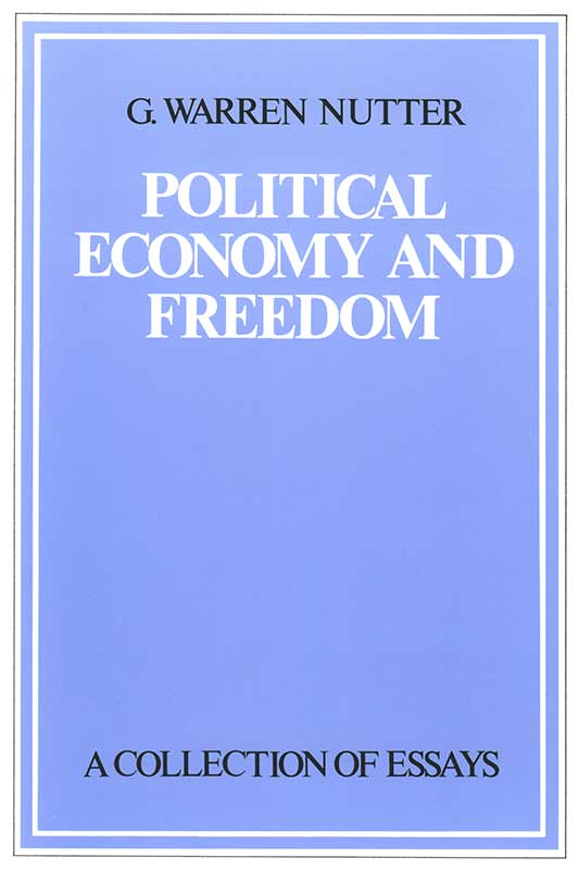 Political Economy and Freedom