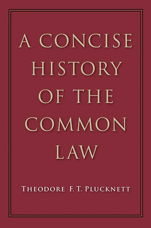 concise history of the common law a