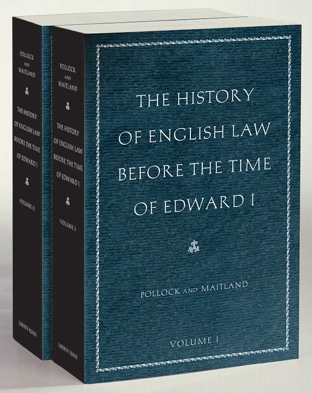 history of english law before the time of edward i the
