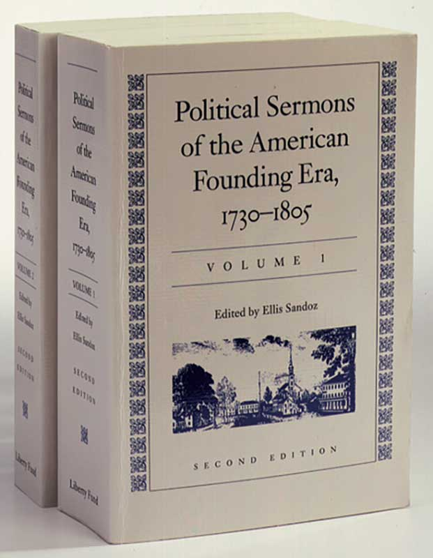 political sermons of the american founding era