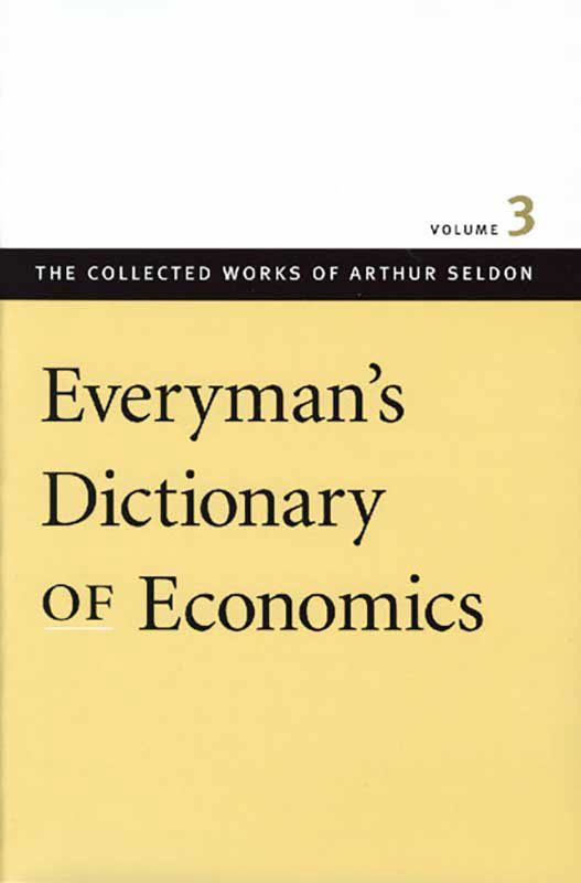 everymans dictionary of economics