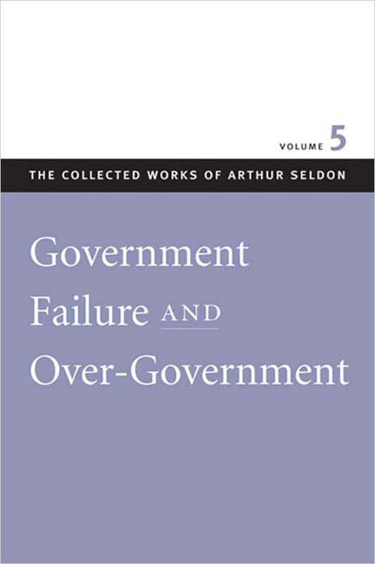 government failure and overgovernment