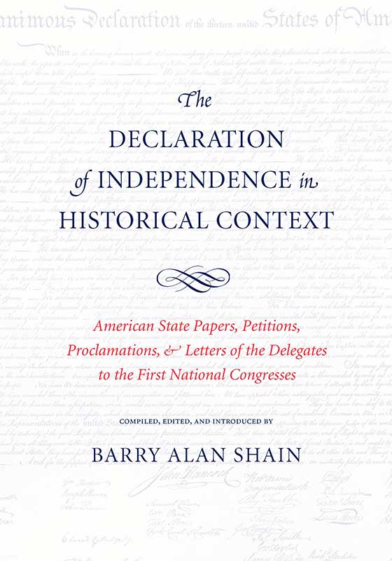 declaration of independence in historical context the