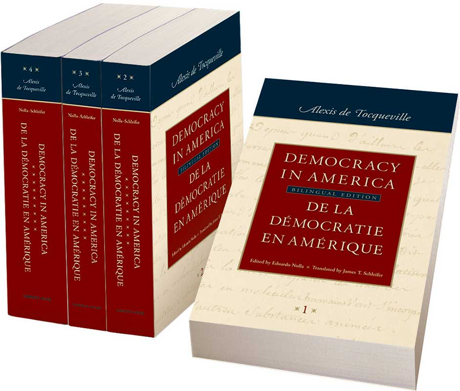 democracy in america bilingual edition