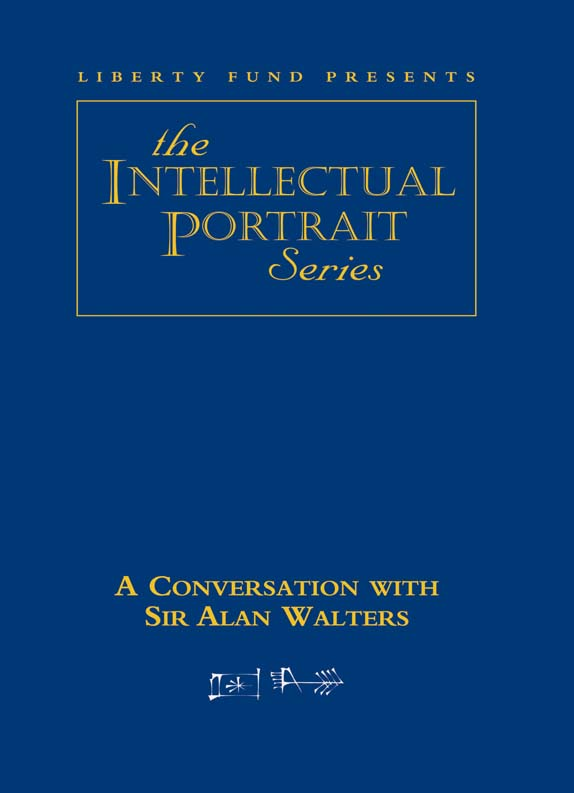 conversation with sir alan walters a