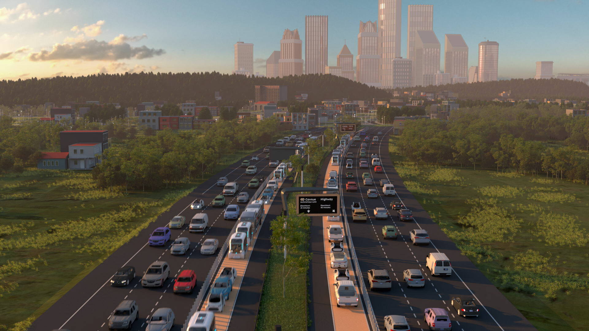 Upscaled stills Highway Credit Cavnue