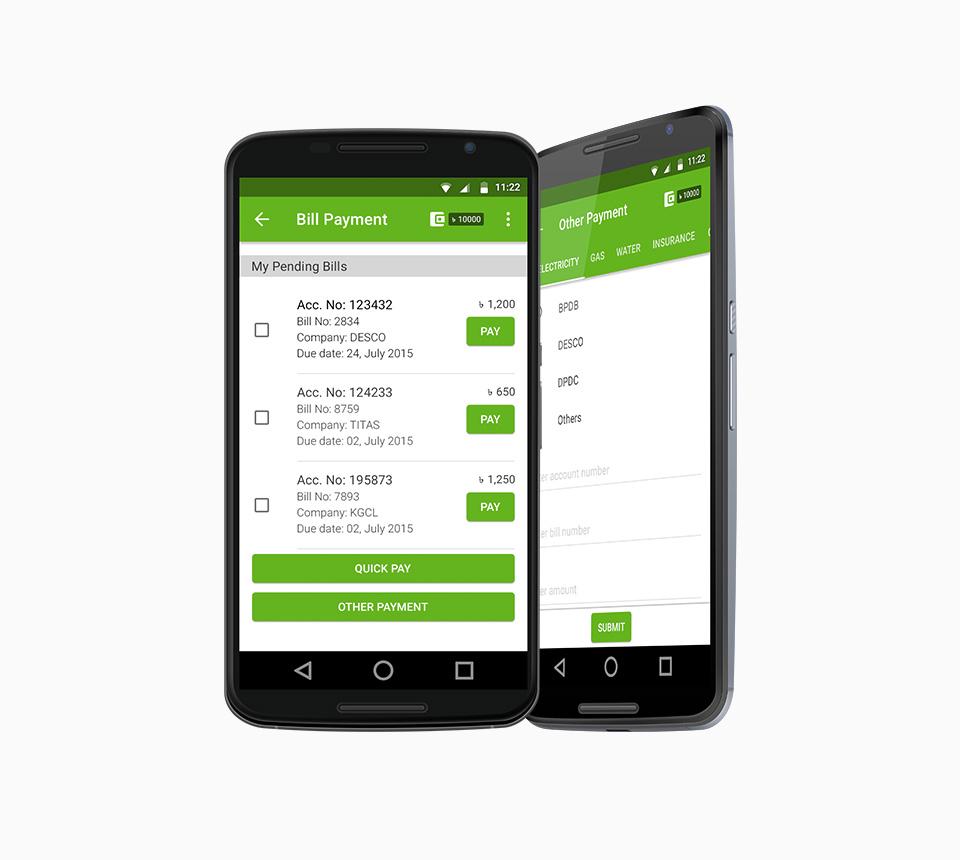 Grameenphone Andriod App