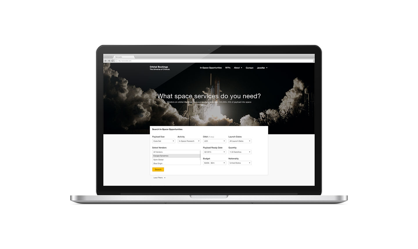 Nanoracks Web App