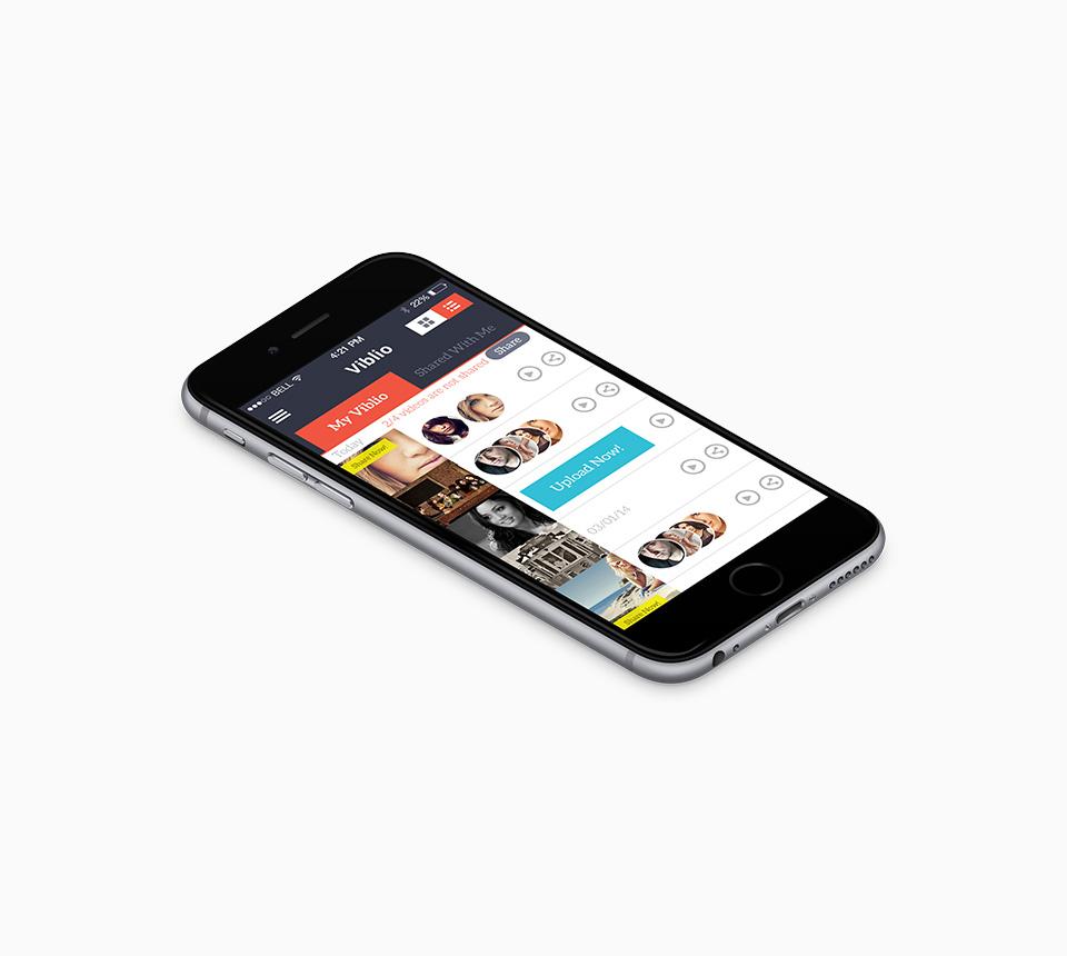 Viblio Ios App