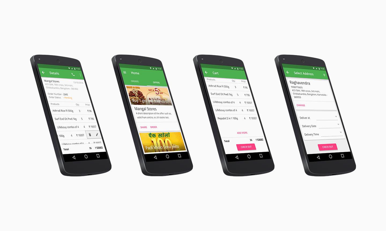 Weekly groceries web app