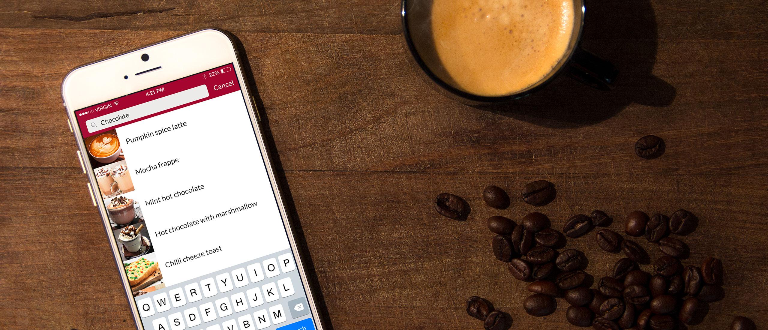 Cafe Singapore Mobile App