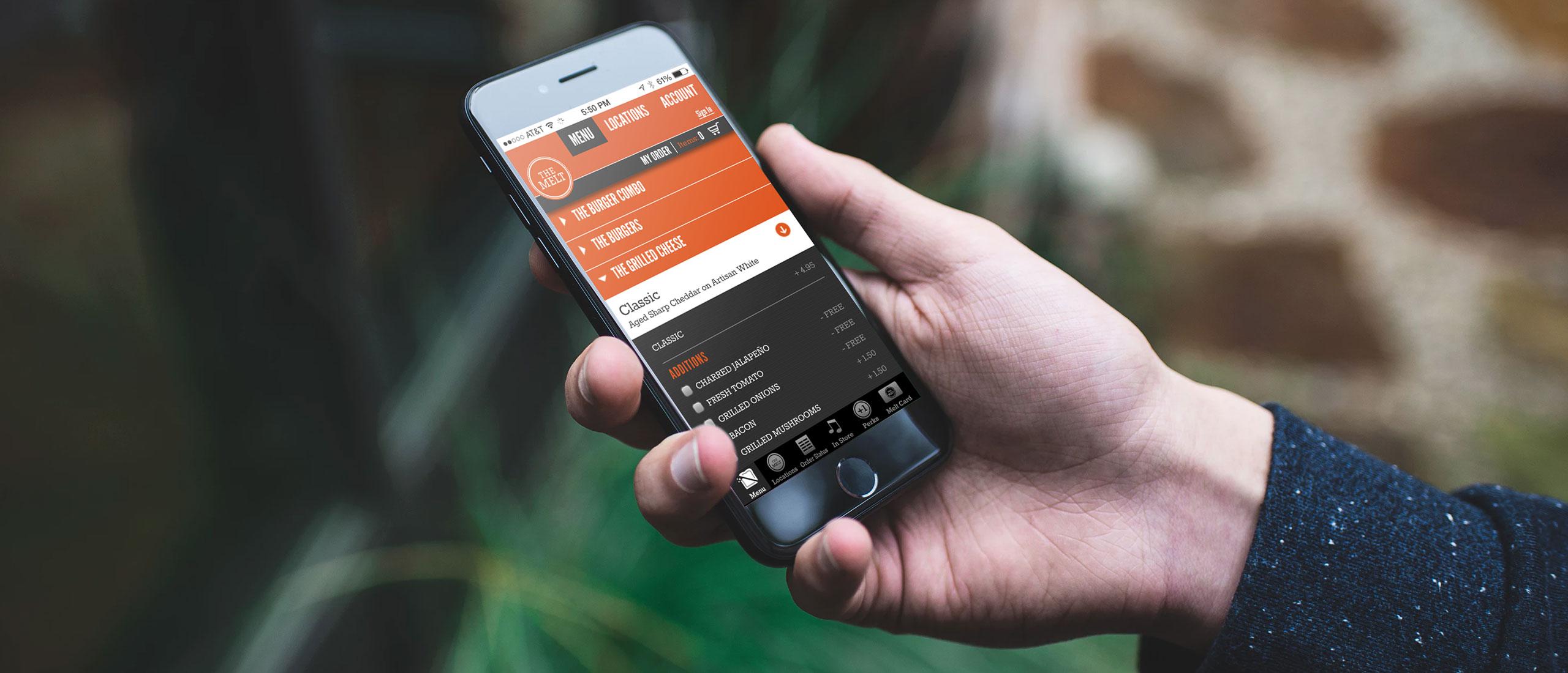 Melt Mobile App