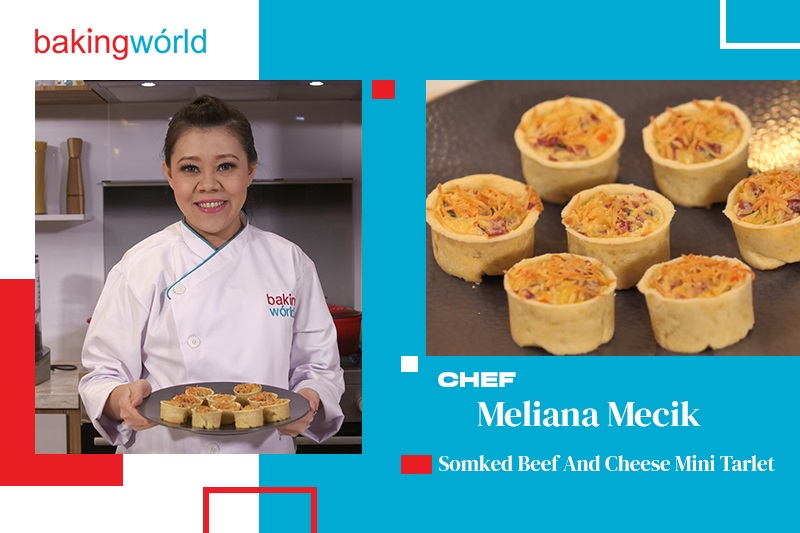 Cara Mudah Membuat Smoked Beef and Cheese Mini Tartlet