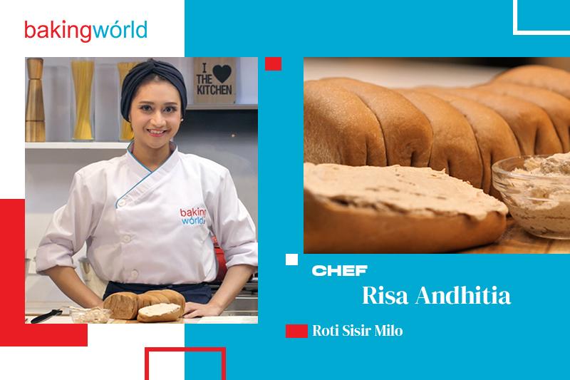 Cara Mudah Membuat Roti Sisir Milo