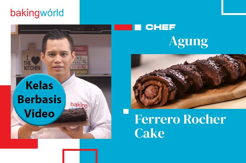 Cara Membuat dan Menjual Ferrero Rocher Cake