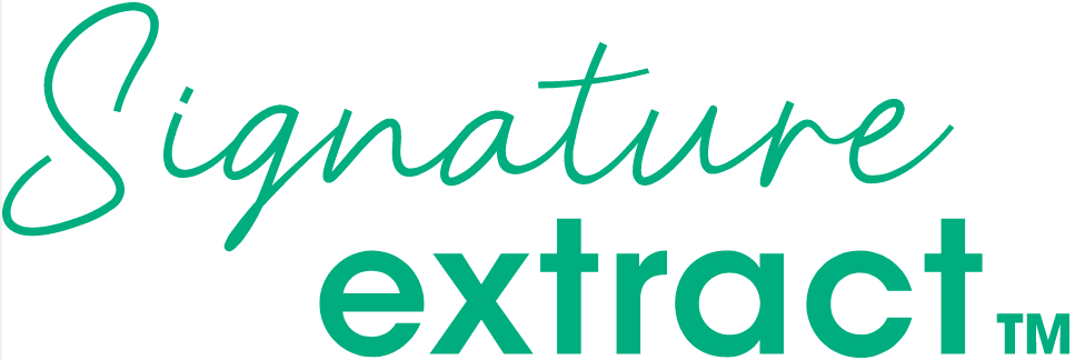 Signature extract logo