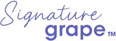Signature grape logo