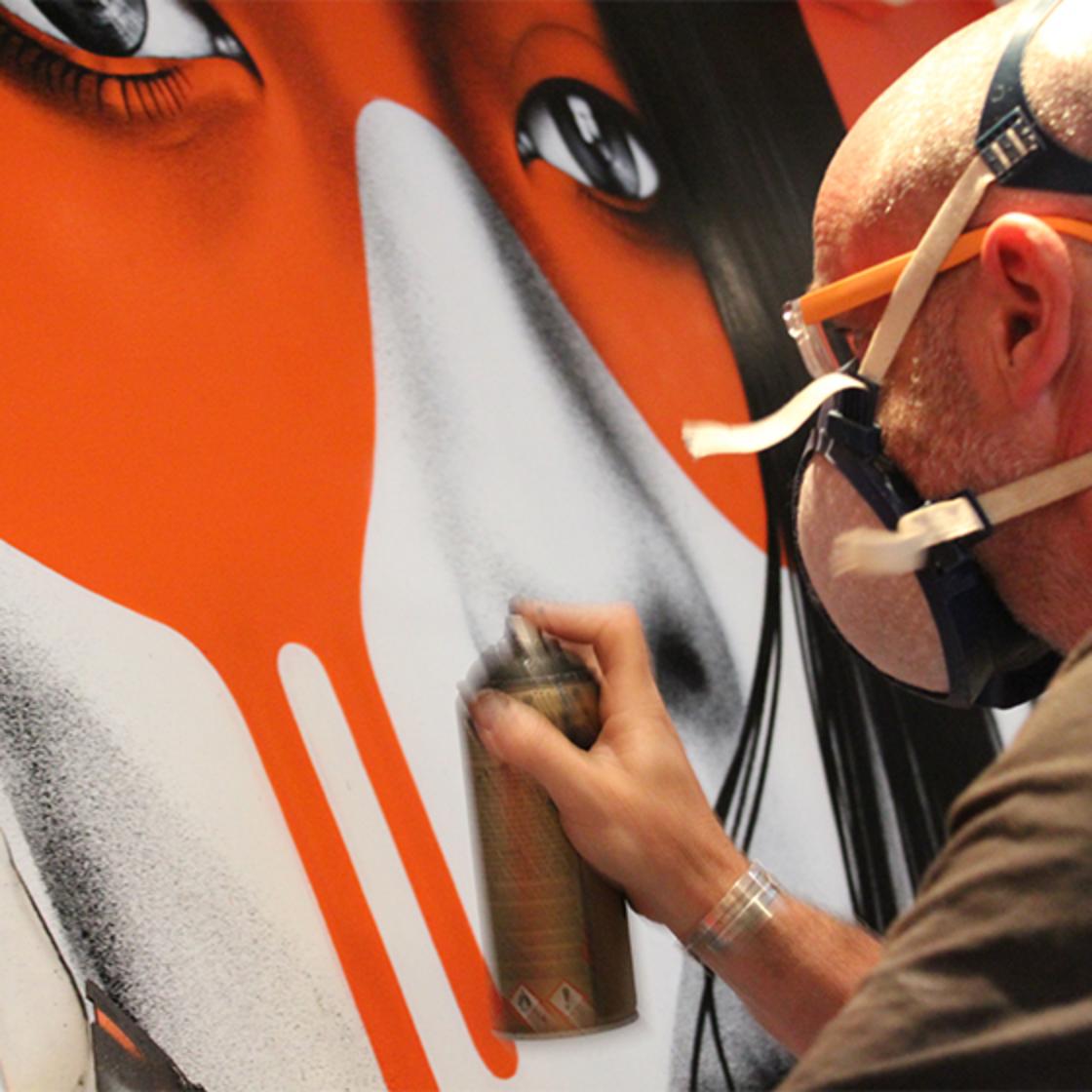 Fin DAC, quand le street art investit des bureaux