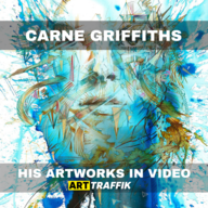 Artworks from Carne Griffiths :  Nature's Riches