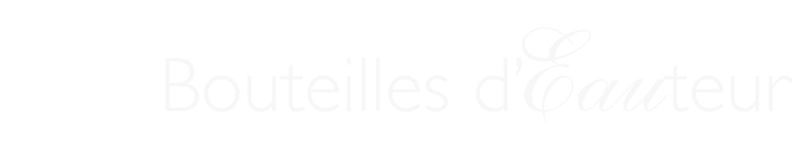 Bouteilles d'Eauteur