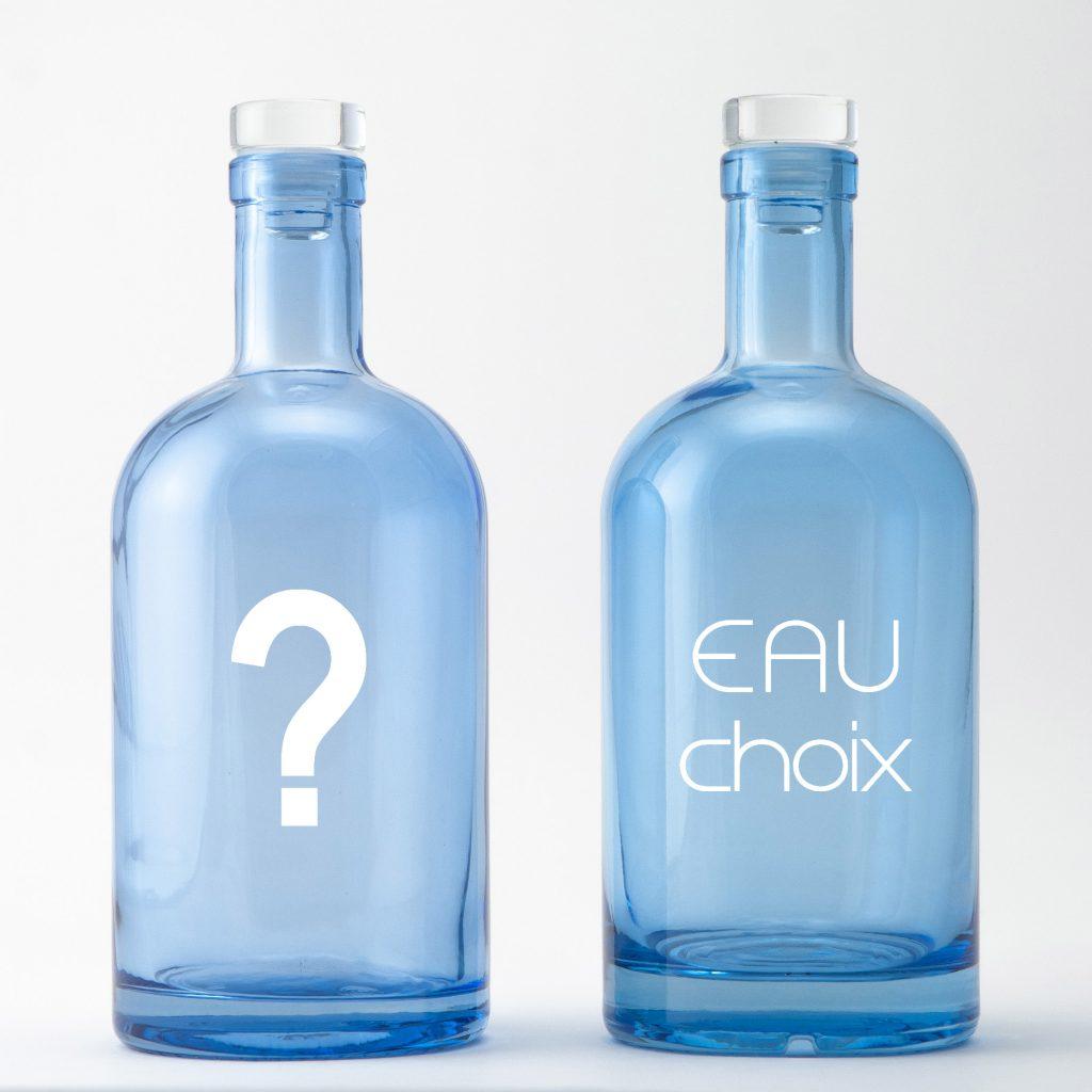 """Carafe ou Bouteille d'eau, c'est Eau choix ! Bouteilles d'Eauteur vous présente sa collection """"Jeu de mots"""" !"""