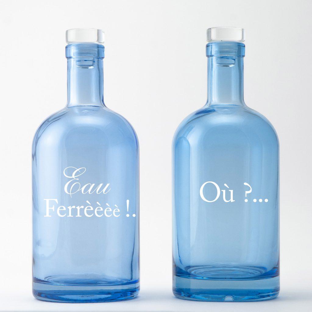 Eau ferrééé !! L'eau de la pointe du Cap Ferret, un décor signé Bouteilles d'Eauteur