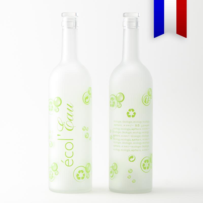 Une carafe Bordelaise pour limiter la consommation de plastique, c'est la Bordelaise Écol'Eau!