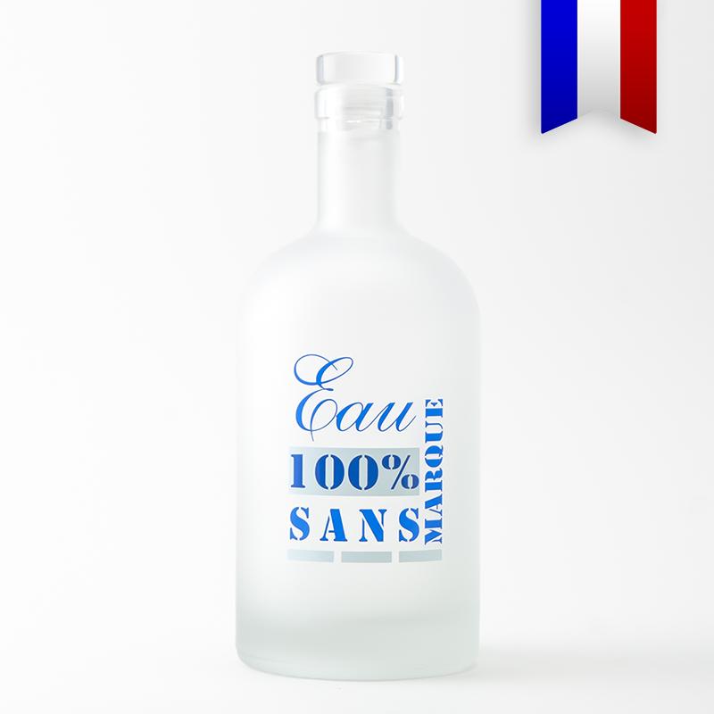 La carafe personnalisée 100% sans marque c'est zéro plastique, zéro marque, et 100% eau du robinet!