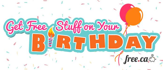 Free Birthday Stuff On Your Birthday