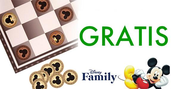Imprimible gratis de ajedrez de MIckey Mouse