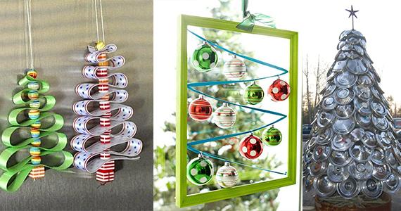 Diez ideas para hacer rboles de navidad originales - Ideas originales para navidad ...