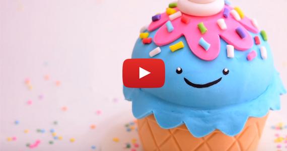Receta fácil para hacer un delicioso helado gigante