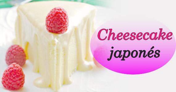 Postre fácil y delicioso en minutos: Cheesecake japonés