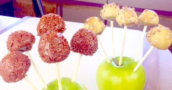 Manzanas con chile al estilo El Guzii