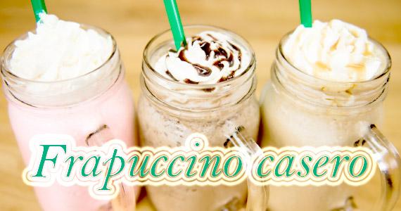 Tres recetas de frappuccino casero al estilo Starbucks