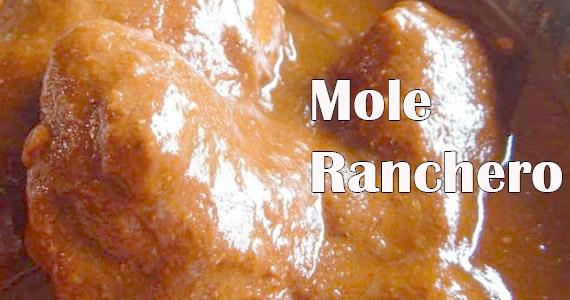 Receta de mole ranchero delicioso en versión fácil