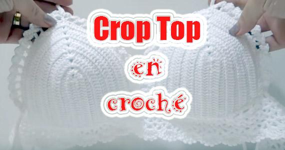 Guía fácil para hacer un Crop Top en croché