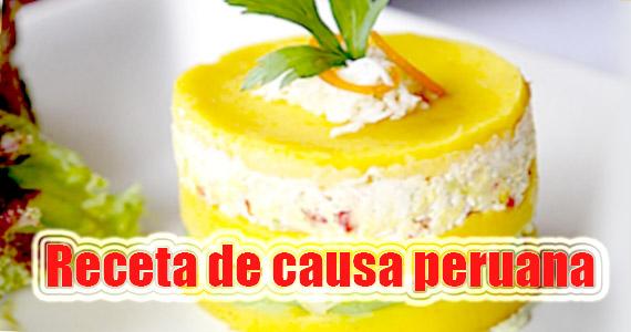 Receta fácil de causa peruana – Buenísima para fiestas