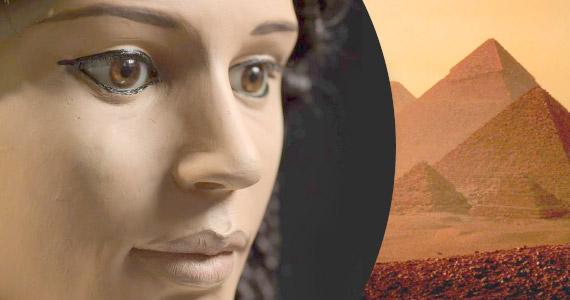 Reconstrucción de momia egipcia en 40 segundos