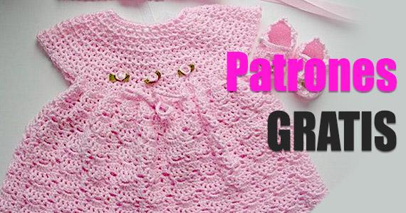 Tutoriales y patrones para elaborar vestidos para bebé