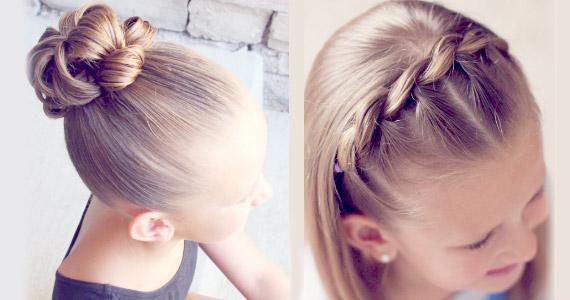Peinado lindo usando la técnica de bucles – sin trenzar