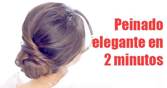 Recogido elegante en tan sólo 2 minutos