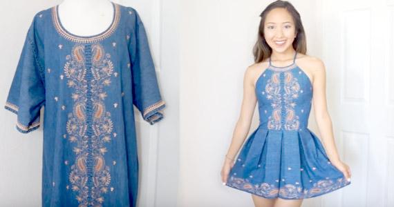 Ideas para transformar la ropa usada en prendas nuevas