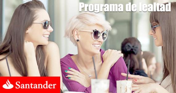 Programa de lealtad con tarjetas del Banco Santander