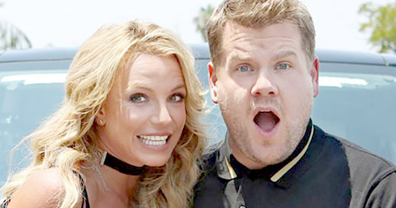 Carpool Karaoke con Britney Spears