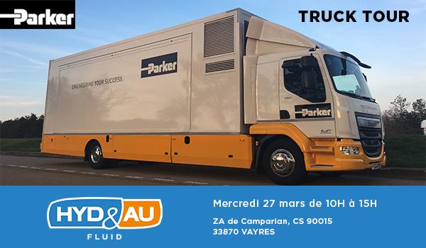 Visuel Truck tour Parker 27 mars 2019