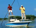 How do you POLE a FLATS boat?
